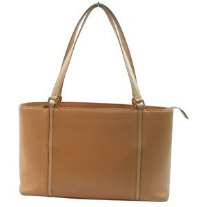 Auth Burberry Tote Bag Light Brown #16207B86